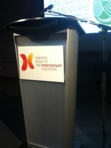 Le tout était exclusif à l'Insectarium/Espace pour la vie de Montréal, qui possède maintenant plus de 20 ans d'expertise en entomophagie.
