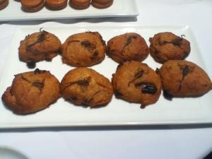 Biscuits aux dattes, courges et scorpions dont je me suis délectée. J'ai bien aimé le goût de ce biscuit, goût qui au fond, n'est qu'une question de culture, comme le mentionnait la directrice de l'Insectarium, Madame Anne Charpentier.